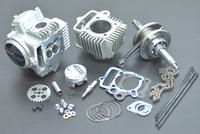 Set 143cm3 4 valves for Tokawa 125, Fiddy Racer, ZongShen W125