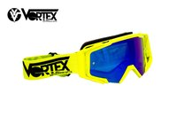 VORTEX VONE FULL YELLOW NEON -dirt-bike-store