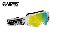 VORTEX VONE FULL WHITE -dirt-bike-store