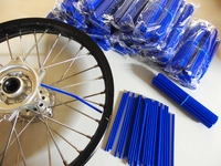 Skin Spoke blue, 2 set of 38x in length 216 and 190mm-dirt-bike-store