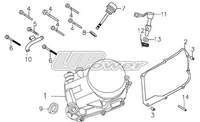 Part list engine 140 UPOWER-dirt-bike-store