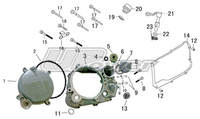 Part list engine 149 UPOWER-dirt-bike-store