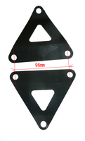 Engine steel fixing for X4, X5, MX PITSTERPRO-dirt-bike-store