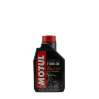 Oil forks and rear shock absorber 2.5W MOTUL 1 liter-dirt-bike-store