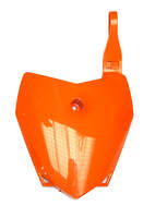 Front plate orange BUCCI BR1-F6 and LXR 2014-dirt-bike-store