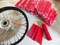 Skin Spoke red, 2 set of 38x in length 216 and 190mm-dirt-bike-store