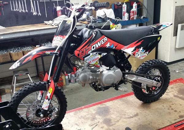 DIRT BIKE PITSTER PRO X5 150 - used from april 2015 -