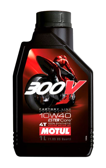 100% Synthetic 10W40 MOTUL 300V Factory Line 1 litre engine oil
