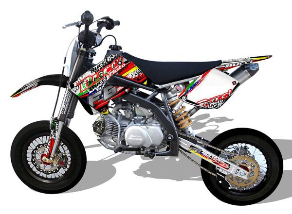 Bucci Br1 F6 Motard Engine 150 4s Upower Bucci Motard Bucci Moto