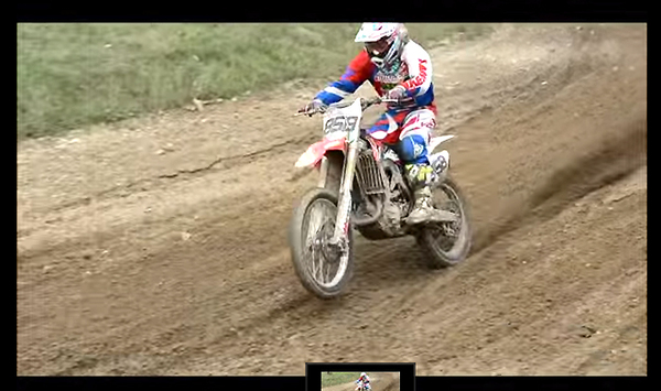 Greg Bazot on HONDA CRF 450 with the official support of Honda France for 2015