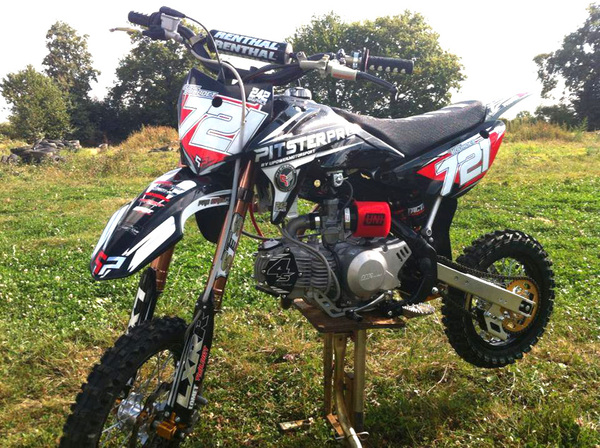 PITSTERPRO LXR150RR, UPower 150-4S, Renthal, NISSIN