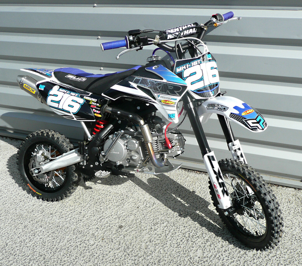 Pitsterpro Lxr180r 4s Renthal Arrow Titanium Bud Seat Racing Bike