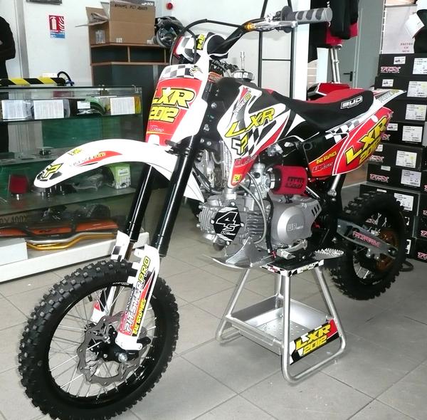 Pitsterpro Lxr150r 4s Renthal Factory240 Arrow Racing Bike 2012