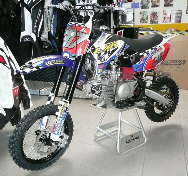 Pitsterpro Lxr150r 4s Greg Renthal Factory240 Racing Bike 2012