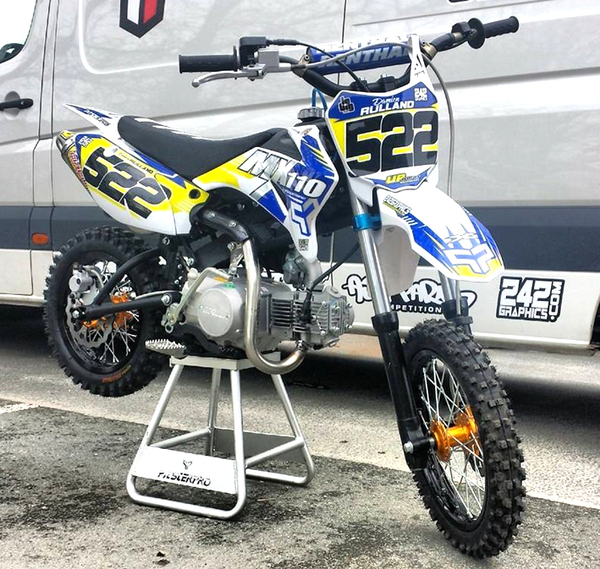 PITSTERPRO MX110, UPower 110-2S DAMIEN