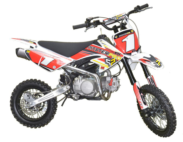 DIRT BIKE PITSTER PRO X5 140 red