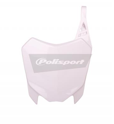 White front plate POLISPORT for pit bike CRF110