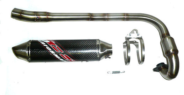 Line TCS Competition exhaust carbon