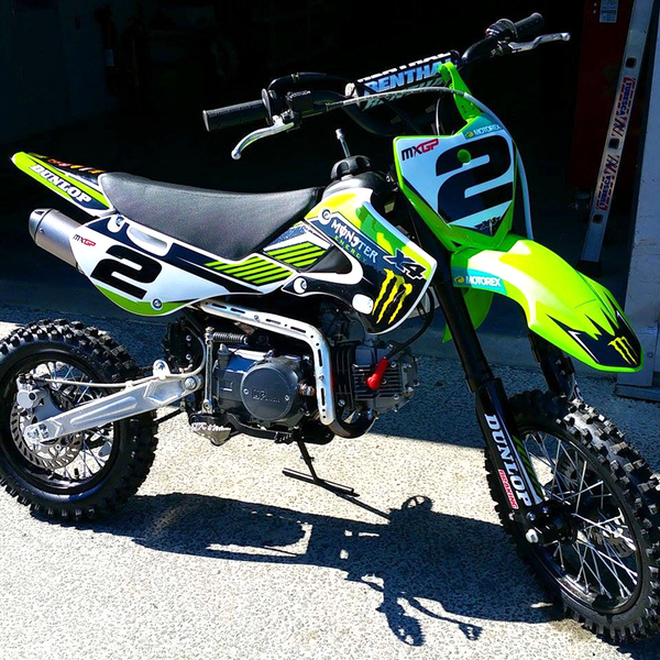 DIRT BIKE PITSTER PRO X4 125  -Replica Ryan Vilopotto #2-