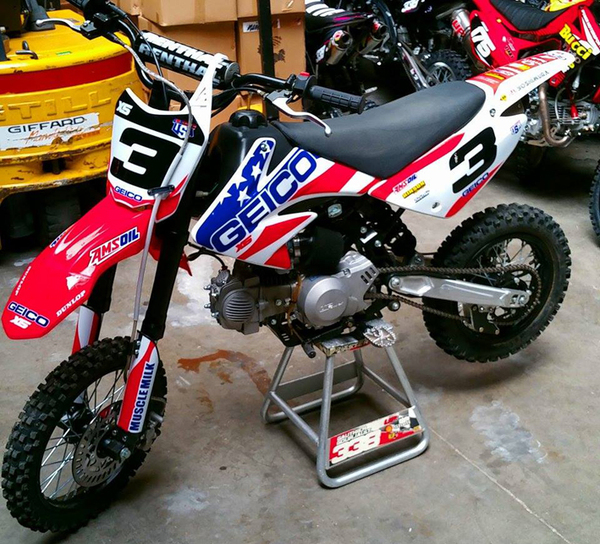 DIRT BIKE PITSTER PRO X5 150 - used from June 2015 -