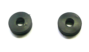 2 fixing rubbers side covers pit bike LXR / CRF