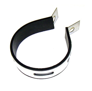 Stainless exhaust fixing -diameter 85mm-