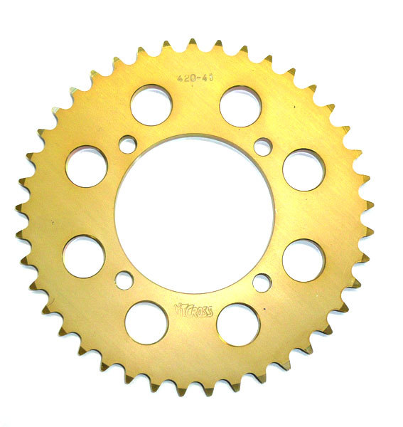 Rear sprocket PBR aluminum 420, 40 tooth, bore 76
