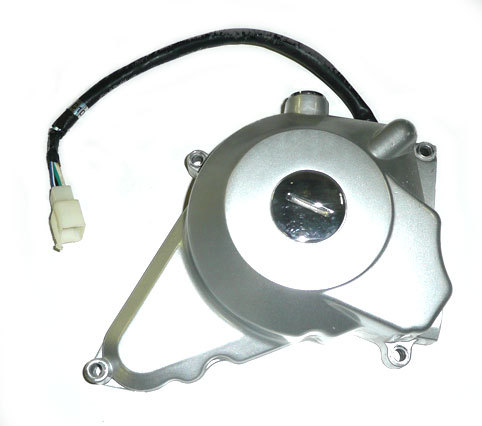 Left Cover and coil -electric starter type-