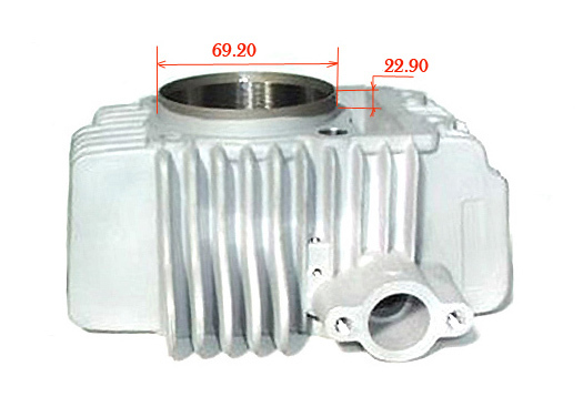 Ceramic 63mm cylinder for YX150-160, GPX150-160, ZS150-155