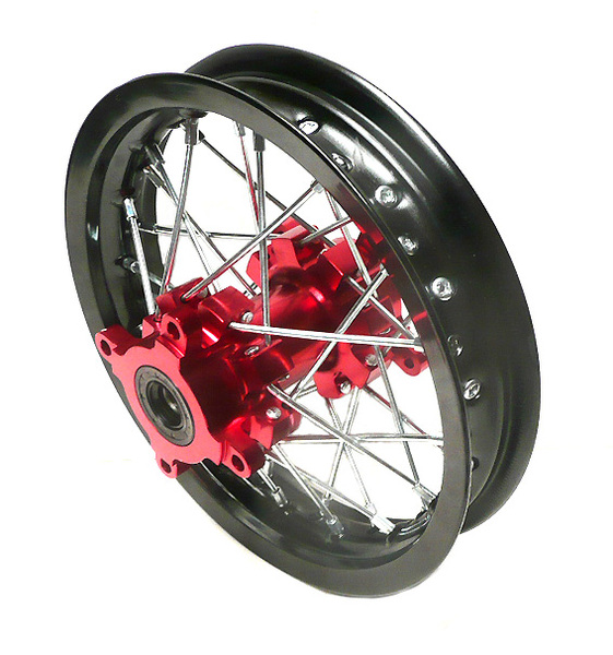 Rear wheel pit bike 12'' VPARTS for MX -rim 1.85''-