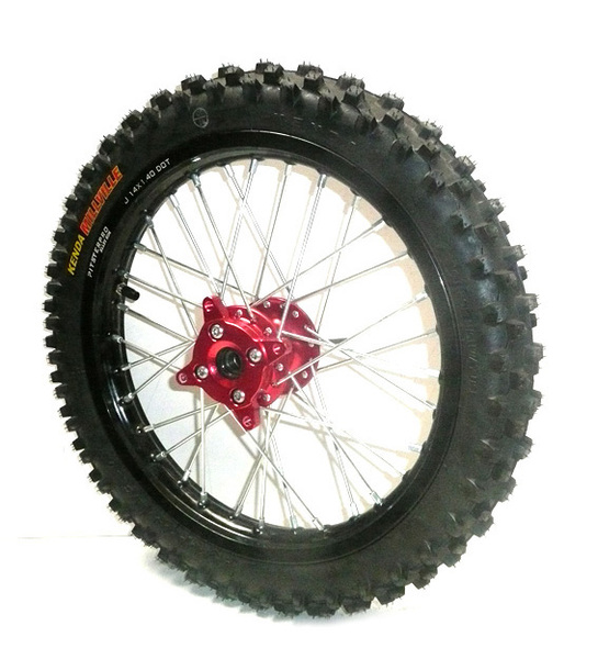 Front wheel 14'' LXR 2014 PITSTERPRO -with tire Kenda Millville-