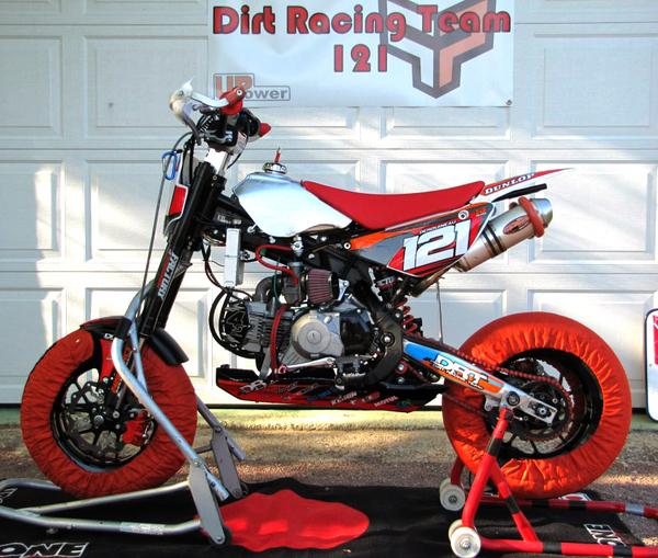 pitsterpro supermotard lxr150rr 2013 e 150 4s drt racing team racing bike 2013 special bikes. Black Bedroom Furniture Sets. Home Design Ideas
