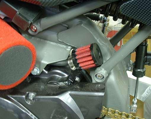 Ducati Crankcase Breather Filter