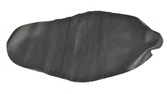 'Striped' seat cover black for LXR - F, Bucci F6 and F15