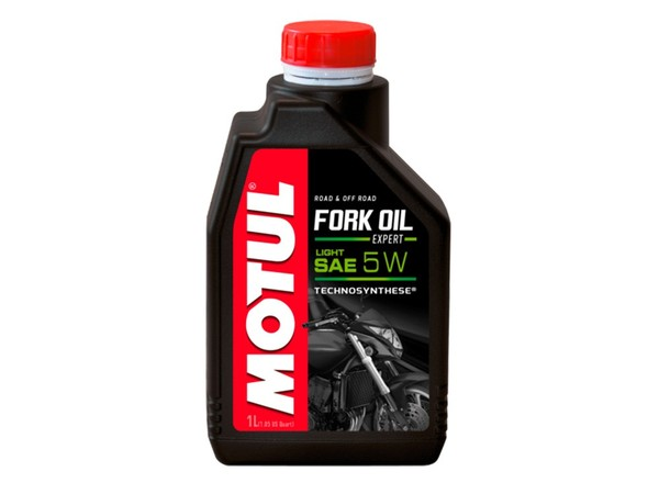 Oil forks and rear shock absorber 5W MOTUL 1 liter