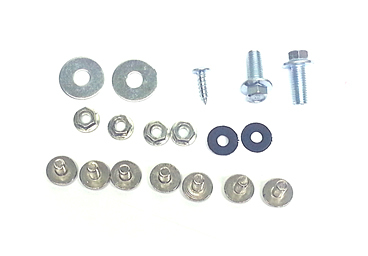 Kit type plastic fasteners for CRF70