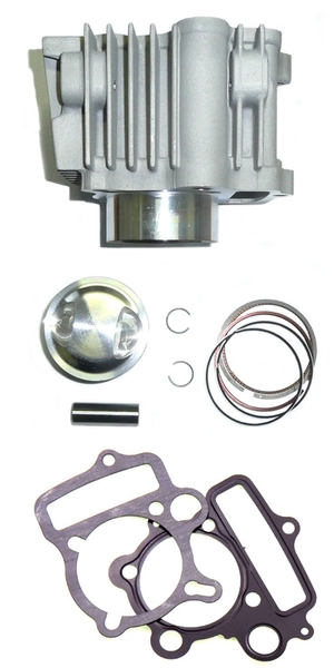 Cylinder and piston kit 57mm high compression for 150 Daytona