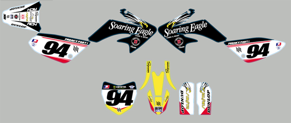 Stickers set PITSTERPRO X5 ROCZEN