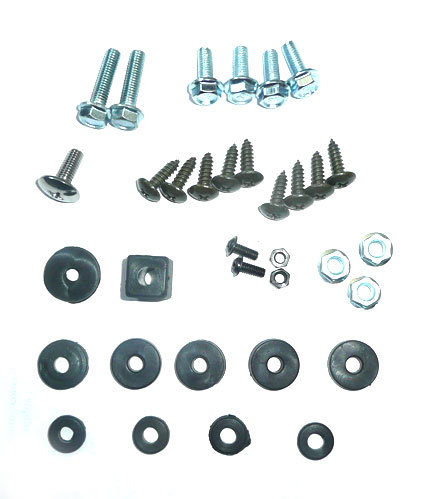 Kit type plastic fasteners for pitbike CRF50