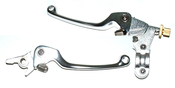 2008 silver folding Levers
