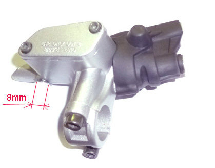 Master brake cylinder front LXR connecting 8mm -without lever-
