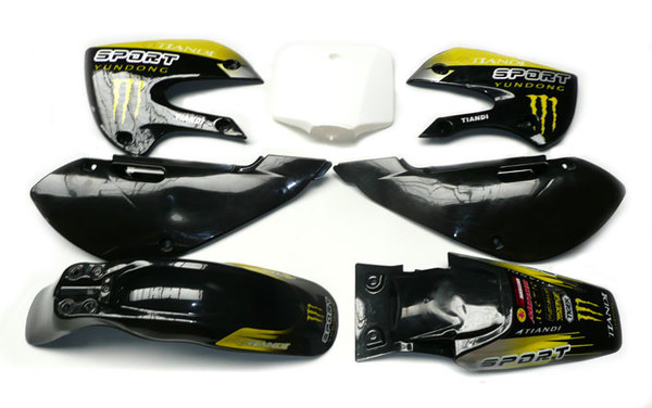 Stickers Monster III POISON KLX110/SP4/FUSION/RSR08/9 ...