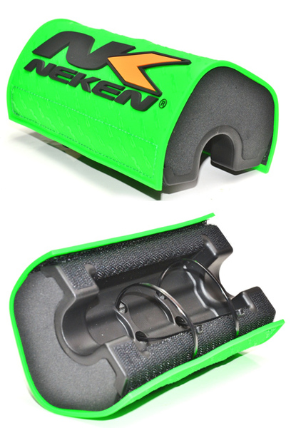 Neken pad neon green handlebar foam fat bar