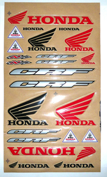 Stickers thick N'STYLE 2009 Honda CRF