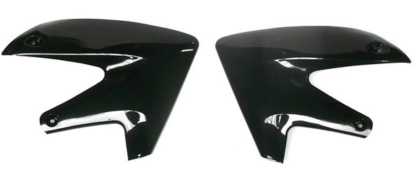 Black side tank covers pit bike BUCCI BR1-F4 and F6
