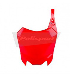 Red red front plate POLISPORT for pit bike CRF110