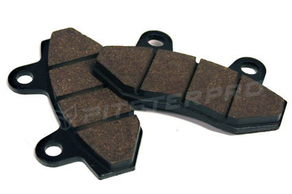 Brake pads for double pistons pit bike PITSTERPRO LXR X4, X5, X6, MX