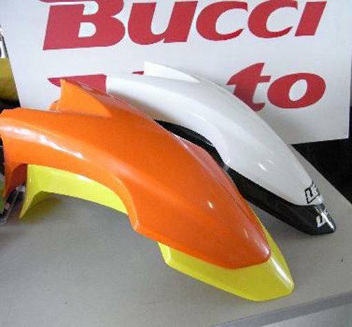 Yellow plastic set for Bucci BRIF6