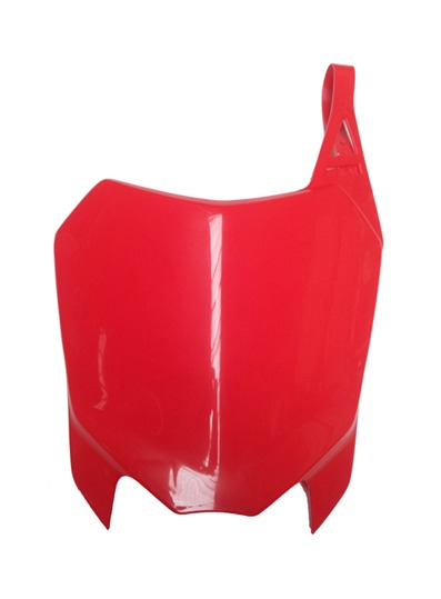 HONDA CRF110 red front plate