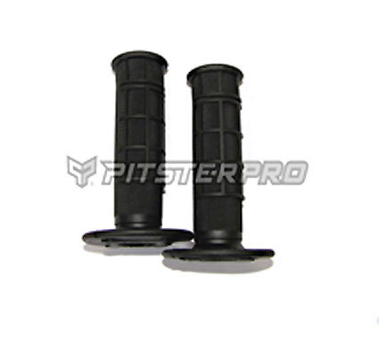 Handles black soft rubber PITSTERPRO black